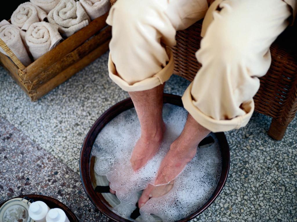 Лечебные ванночки для снятия отеков