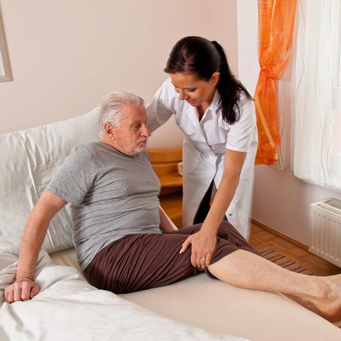 Гимнастика для больных пожилых людей