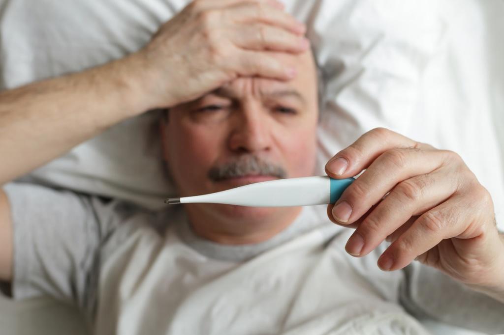 Температура у пожилых людей
