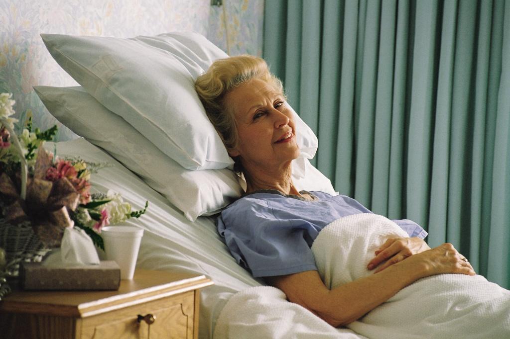 пациент в кровати картинки