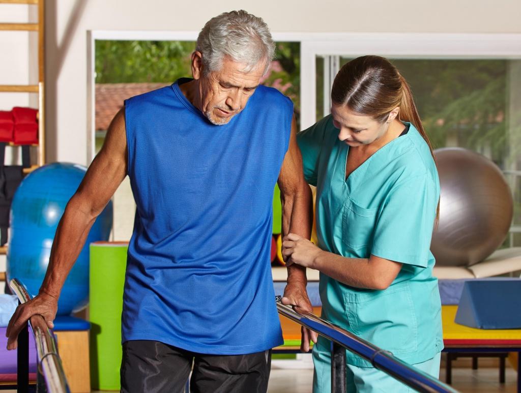 Реабилитация после инсульта в картинках