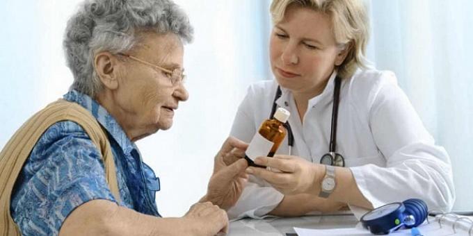 Лечение гипертонии (высокого давления) у пожилых людей ...